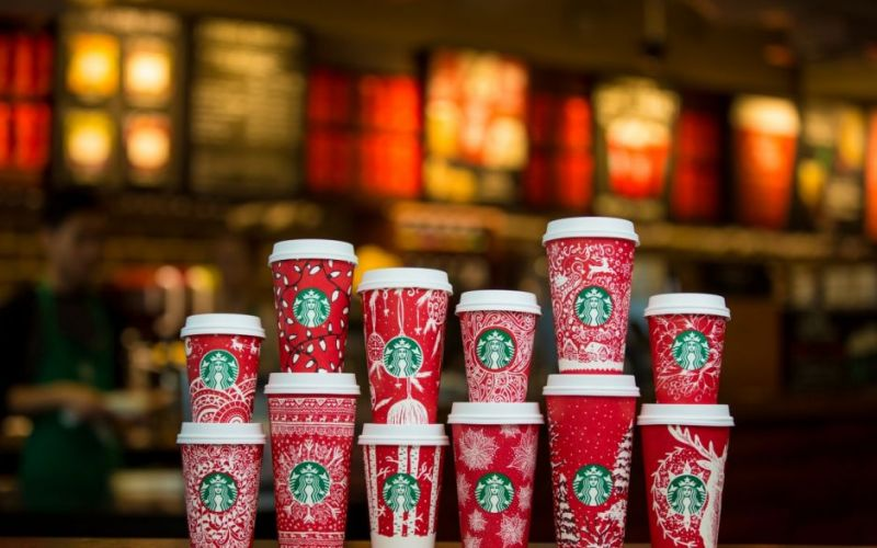 Starbucks kicks off the Christmas season with celebrated seasonal beverages, food, gifting merchandise and the return of its iconic red cups.