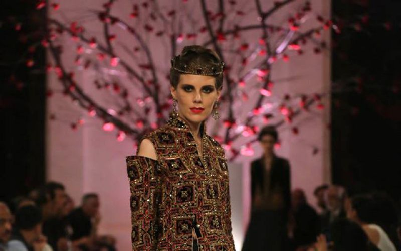 Rohit Bal dazzles with a touch of Russian influence