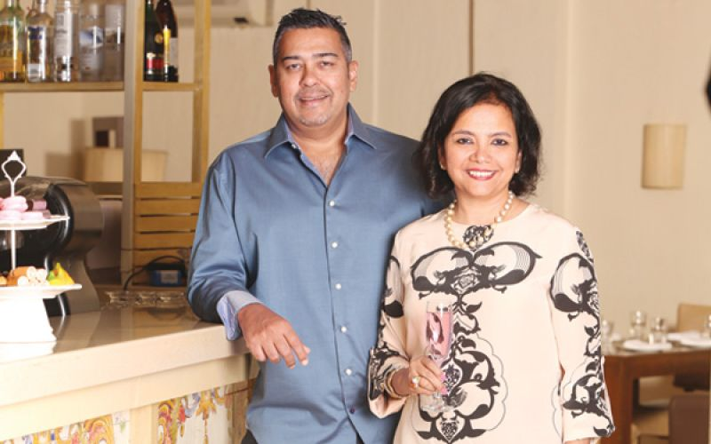 Culinary Couple Maya and Shankar