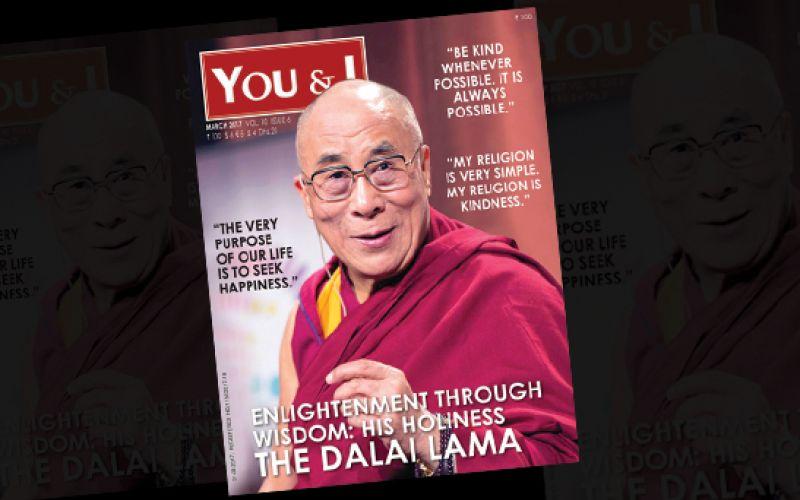 Dalailama Magazine Cover