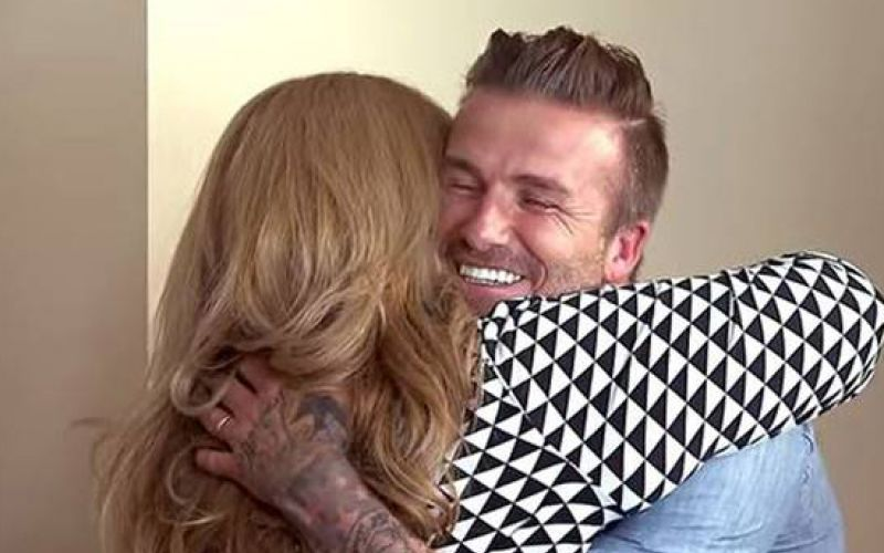 David Beckham Surprises Family On Ryan Seacrest's New Show