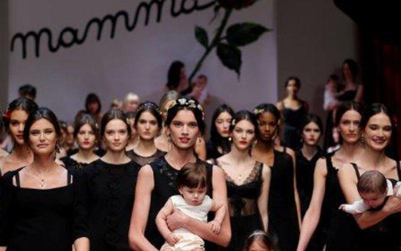 Dolce & Gabbana's Fall 2015 Show Celebrated Motherhood