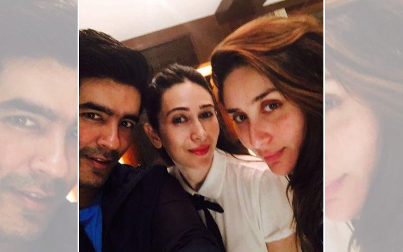Manish Malhotra and the Kapoor sisters make an awesome threesome