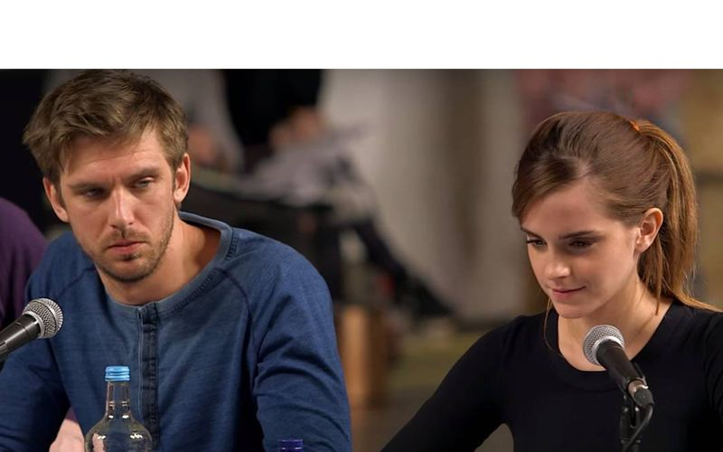 Emma-as-belle-and-Dan-as-Beast-teaser
