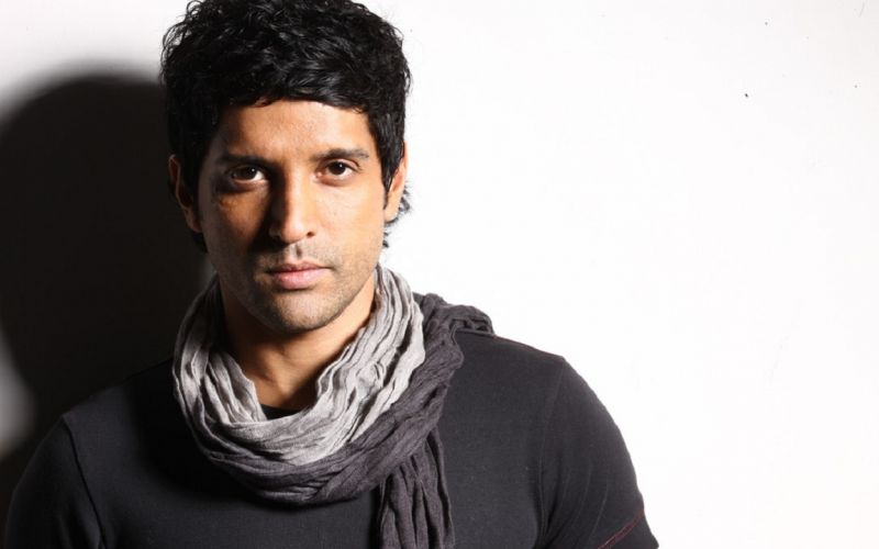 Farhan Akhtar hates going topless even though he is fit