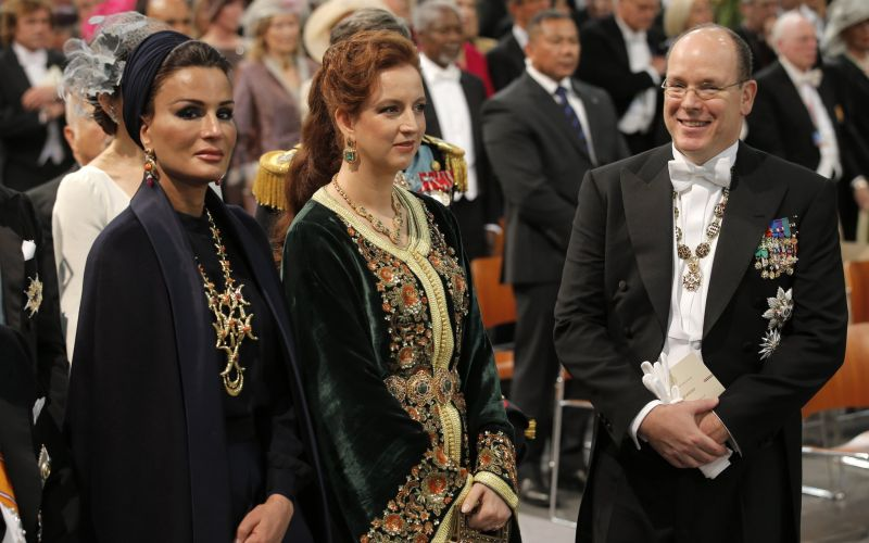 Her Highness Sheikha Moza bint Nasser's fashion is seriously amazing