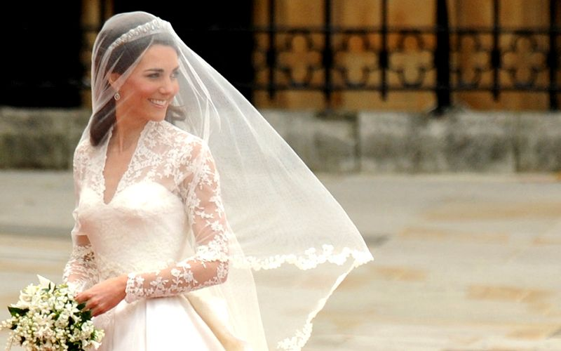 Celebrity Inspiration: 5 Bridal Hairstyles