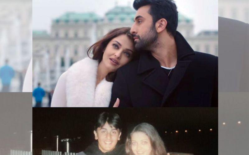 : Aishwarya Rai and Ranbir Kapoor look adorable in this throwback picture