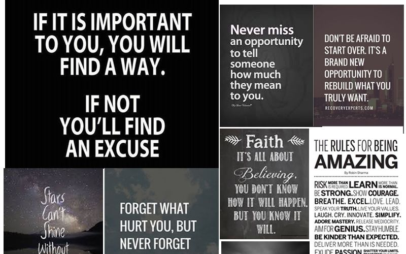 Get Inspired by these Wonderful Quotes