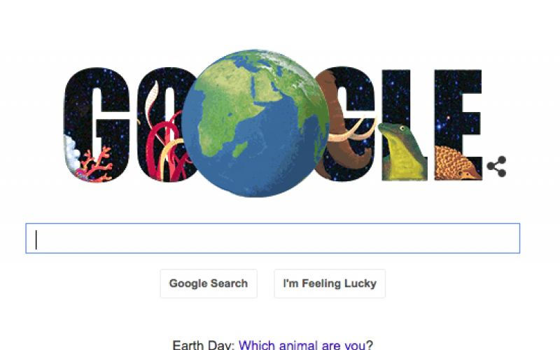 Google's Earth Day Doodle: Which Animal Are You?