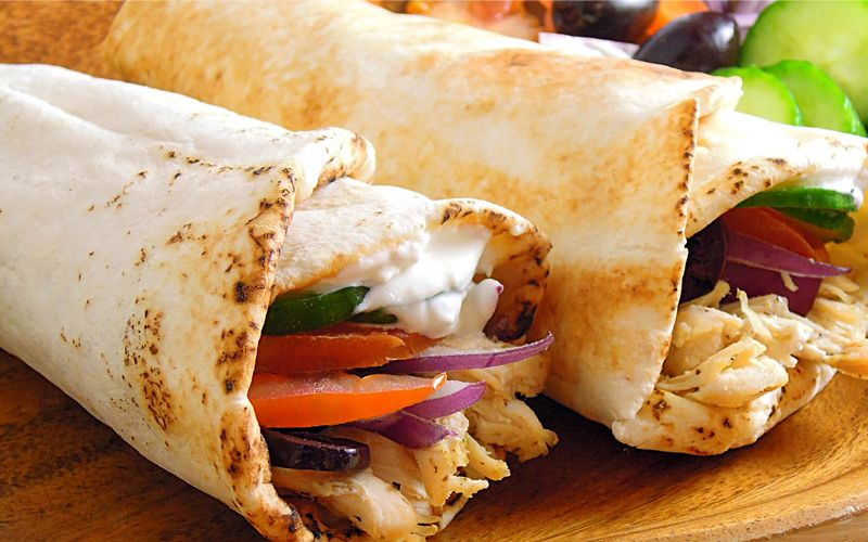 Greek-chicken-pita