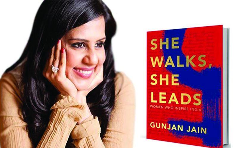 Gunjain Jain gets Shahrukh Khan and Nita Ambani to unveil her book