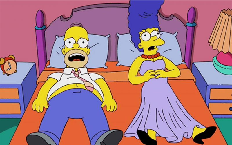 Homer And Marge Headed For Divorce