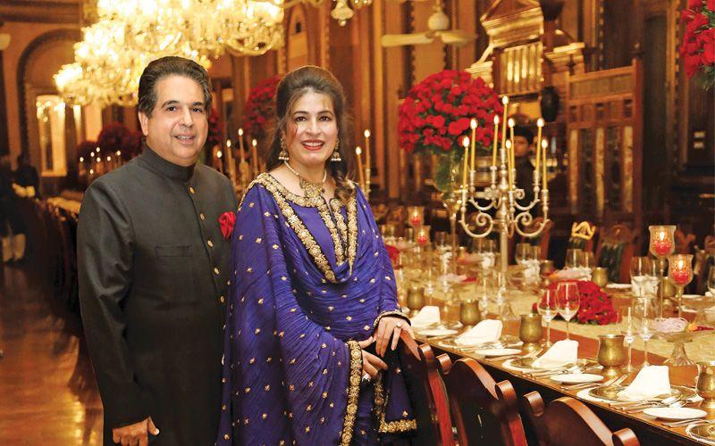 Huma Latif and Asad Latif
