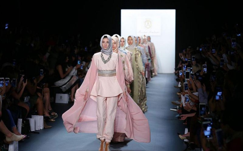 Indonesian Fashion Designer Made a Political Statement at New York Fashion week.