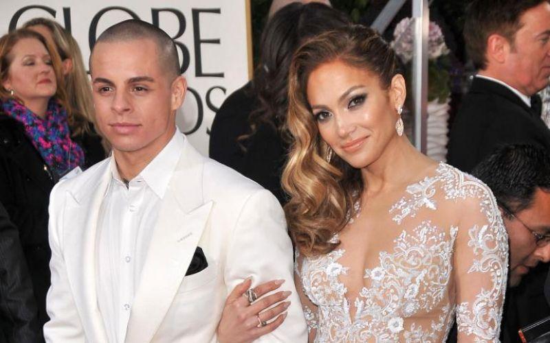 Jennifer Lopez is giving Casper Smart another chance