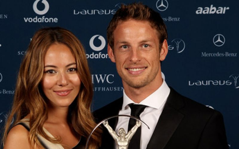 Jenson Button Burgled in France