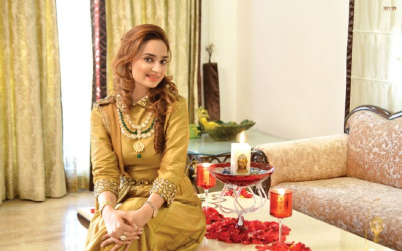 Jewellery designer Chitwn Malhotra's Home