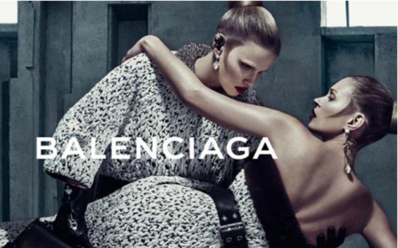 Kate Moss And Lara Stone Star In Balenciaga Fall Campaign