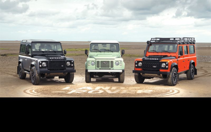 Land Rover Revisits History