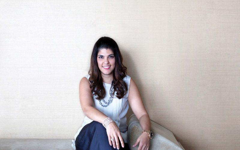 Leshna Shah – founder and Creative Head of Aurelle
