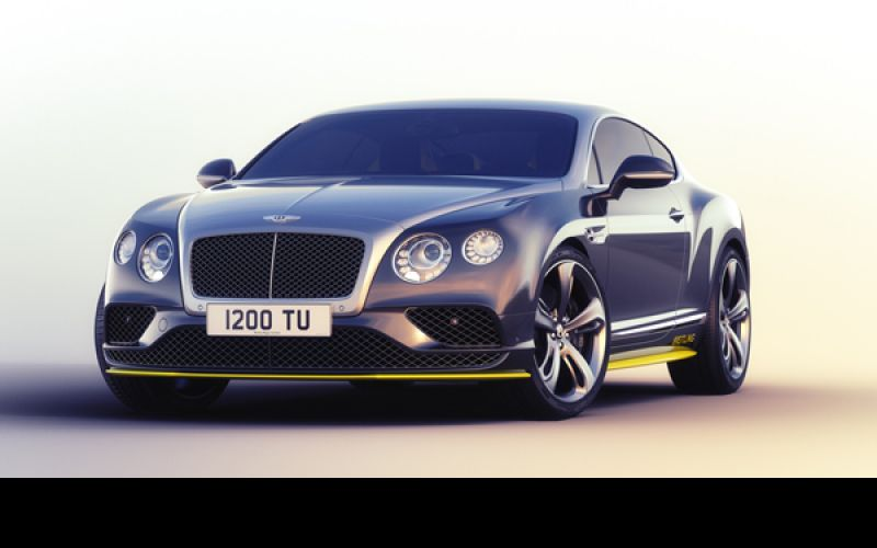 Limited-Edition Bentley
