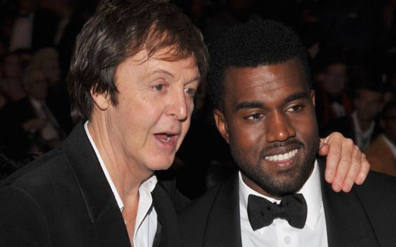 Listen To Kanye West's New Song Featuring Paul McCartney