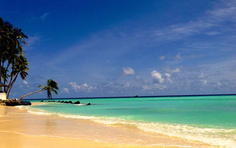 Maafushi Beach Maldives