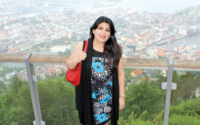 Madhu Jain visit to Norway