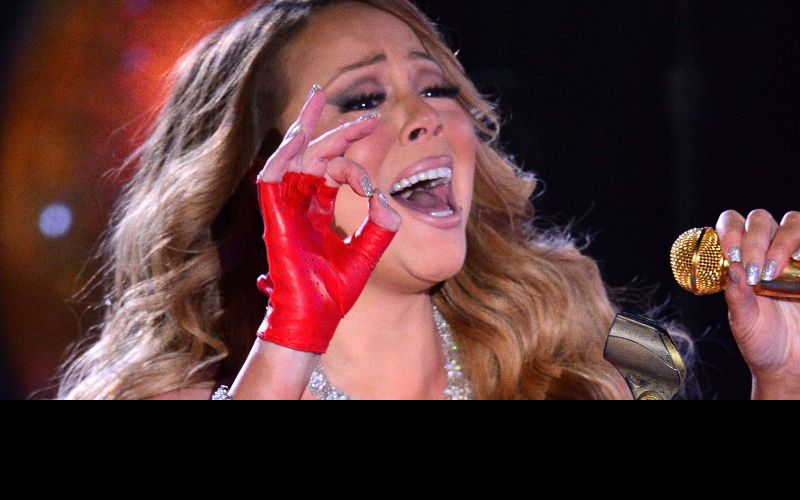 Mariah Carey's unedited vocal leaked online