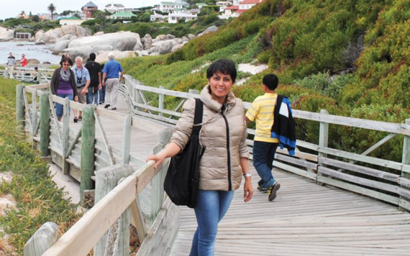 Meghna visit to China