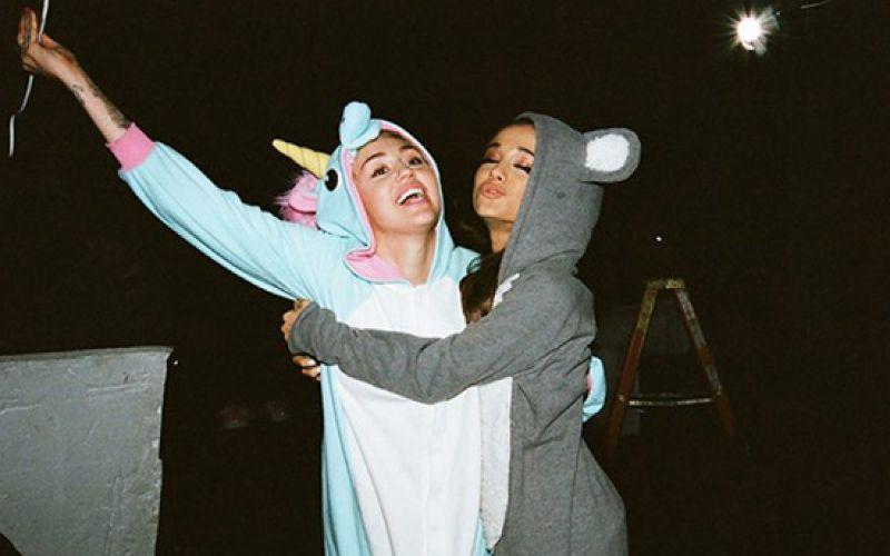 Miley Cyrus, Ariana Grande Cover 'Don't Dream It's Over'