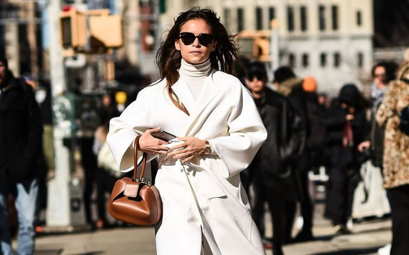 Street Style stars come out in full swing at New York Fashion Week