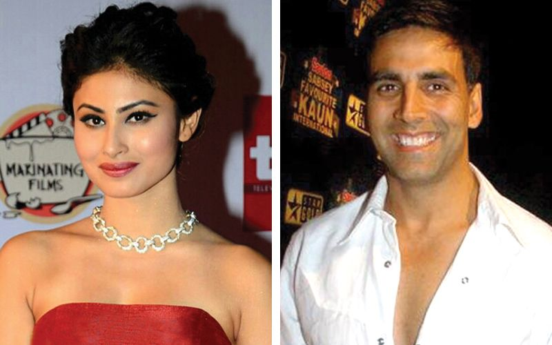 Mouni Roy and Akshay Kumar