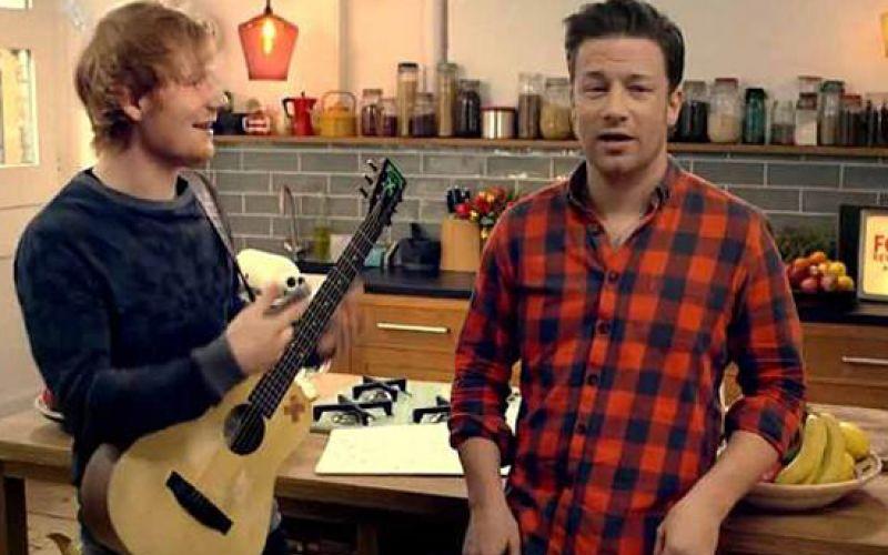 Musicians Join Jamie Oliver's Food Revolution Rap
