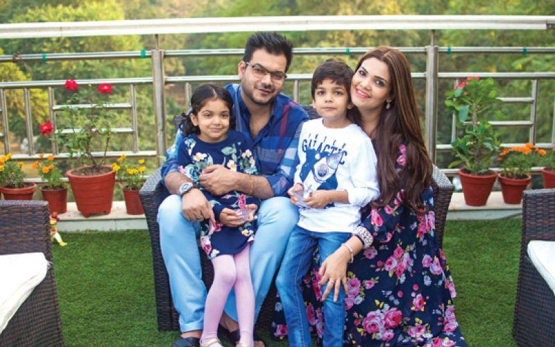 Neetu and Deepak Arora's home