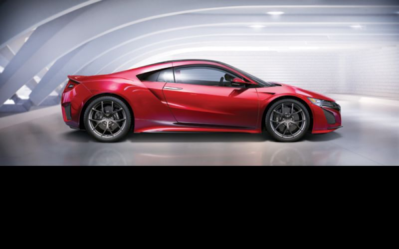 Next-generation acura nsx