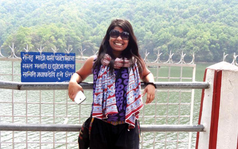Niveditha Murthy trip to Nepal