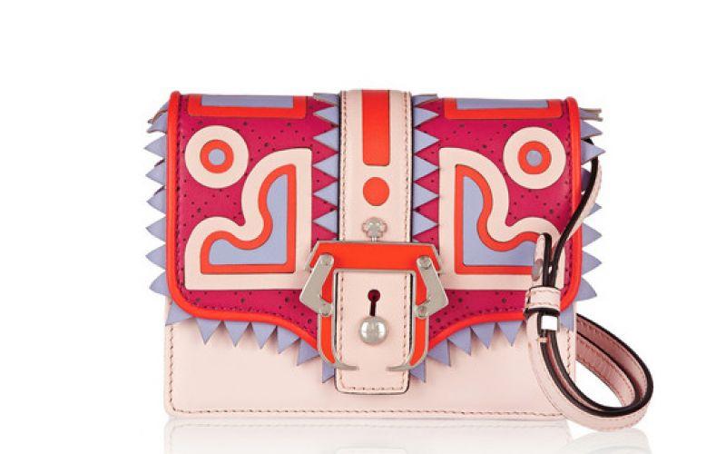 Paula Cademartori Anna appliquéd leather shoulder bag