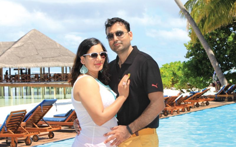 Praveen and Tripty Agarwal to Maldives