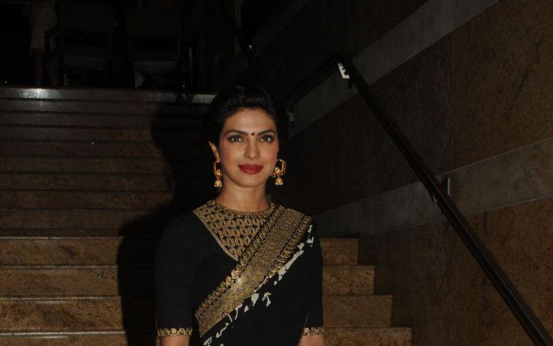 Priyanka Chopra to promote Banarasi sarees