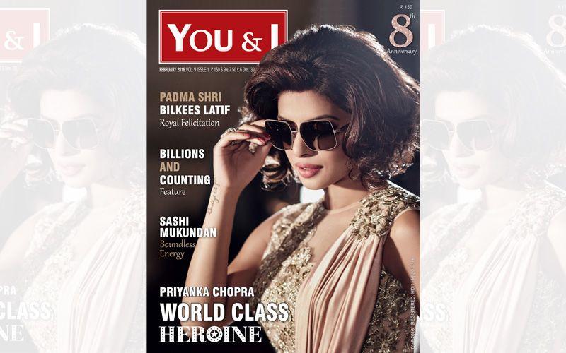 Priyanka Chopra Magazine cover