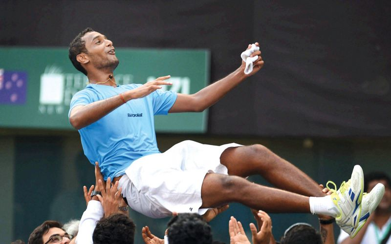 Ramanathan hands India a win over  New Zealand in Davis Cup