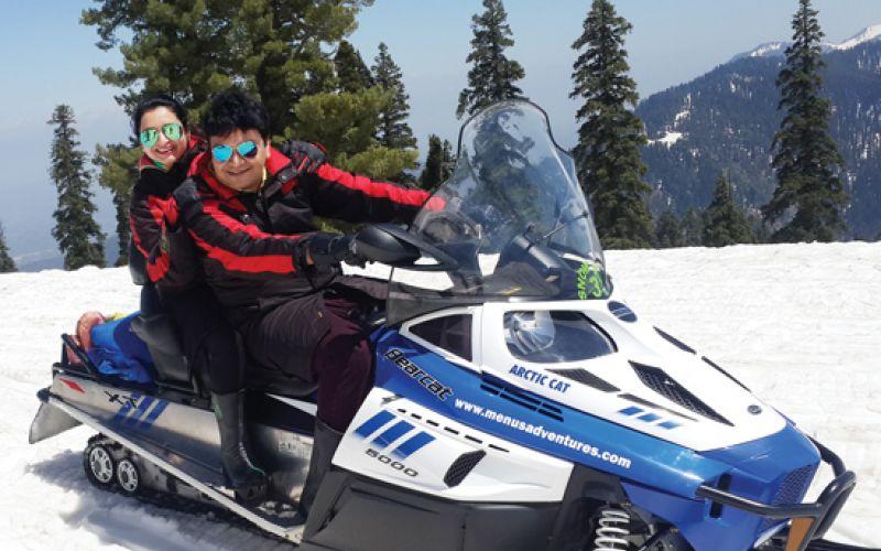 Ramesh Patel trip to Jammu & Kashmir