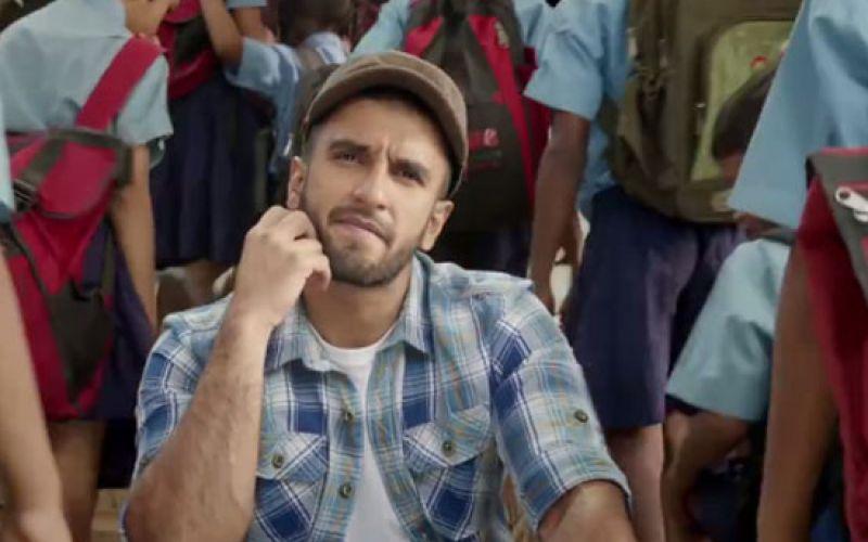 Watch: Ranveer Singh In 'Hunger Ki Bajao' Video