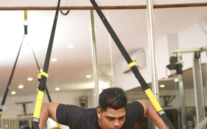 Rasheed Khan's fitness studio