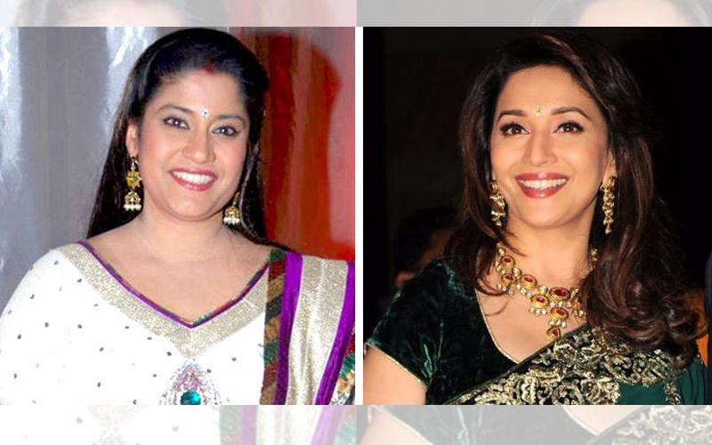 Renuka-Shahane-Madhuri-Dixit