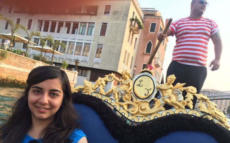 Richa Karamchandani trip to Paris and Venice
