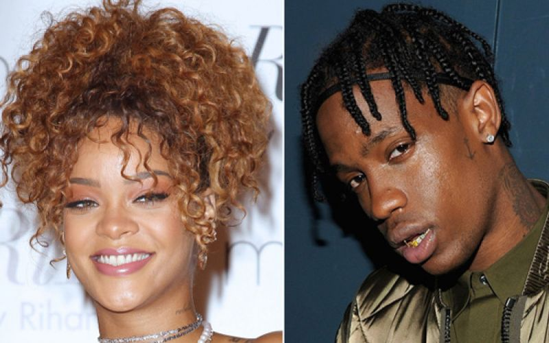 Rihanna And Travis Scott Are Officially Dating
