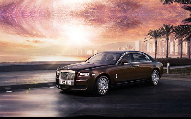Rolls Royce Ghost Series II gets a facelift
